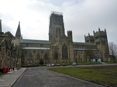 Durham cathedral photo copyright Gilly Pickup