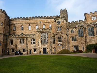 Durham castle photo copyright Gilly Pickup