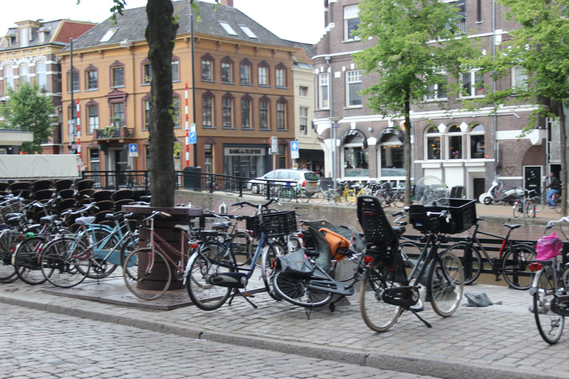 bikes, Groningen  photo by Gilly Pickup